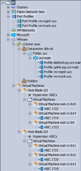 ucs virtual machines