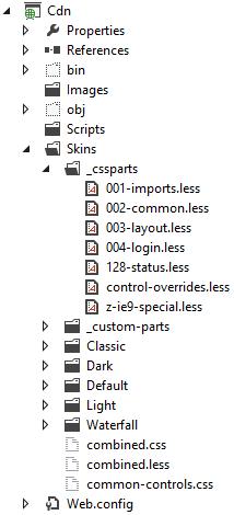 Скриншот проекта Cdn