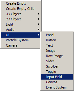 SCR:InputFiled