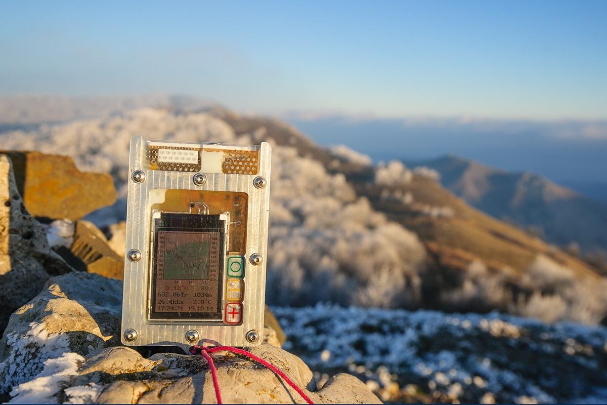 The device on Mount Sori, Crimea