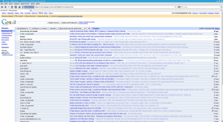 View of mail.google.com from Firefox