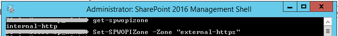 SharePoint 2016 Management Shell administrator