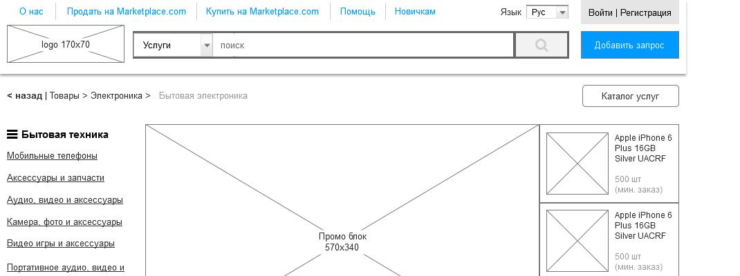 Проектирование большого проекта на примере аналога Alibaba.com