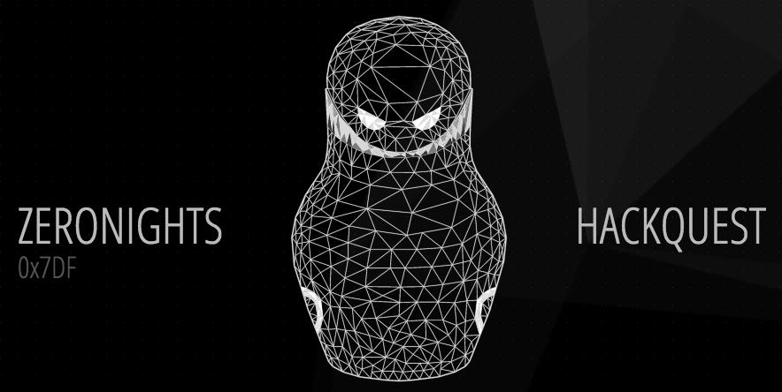 ZeroNights HackQuest 2015