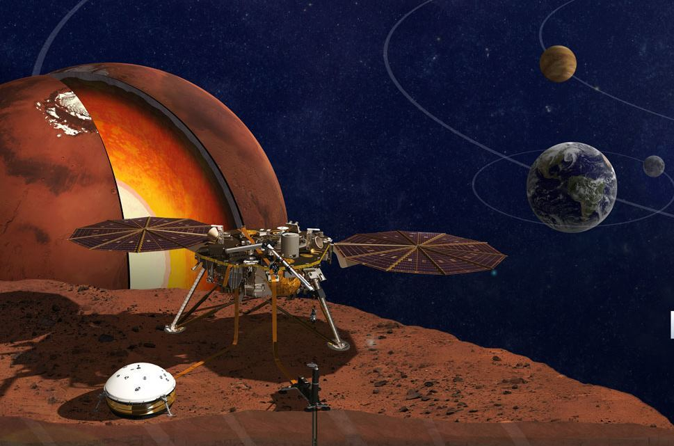НАСА утвердило новую дату запуска аппарата Mars InSight