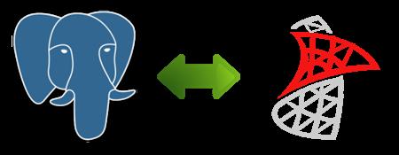 Интеграция PostgreSQL с MS SQL Server