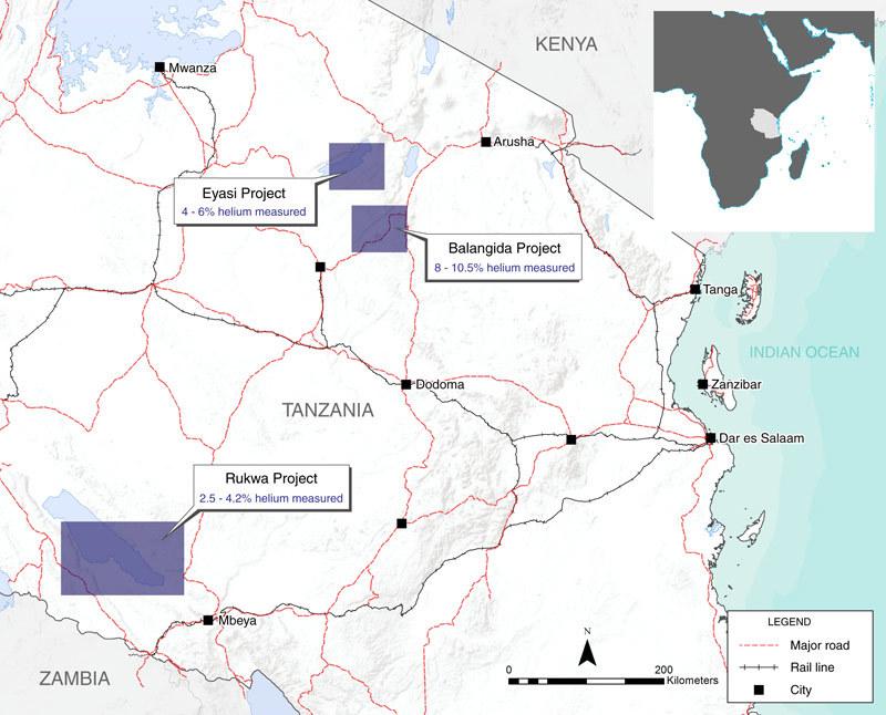 Новый научный метод помог найти большое месторождение гелия
