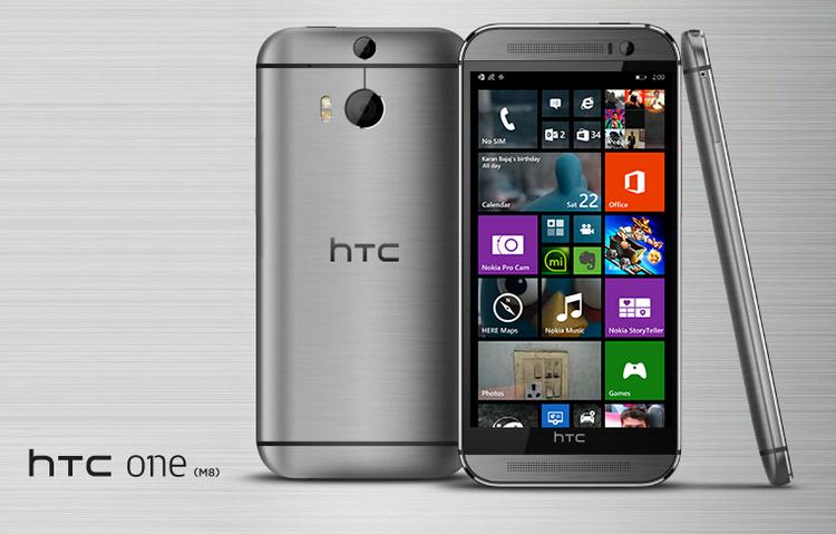 HTC One M8 с WP 8.1 расходует батарею экономнее Android-версии