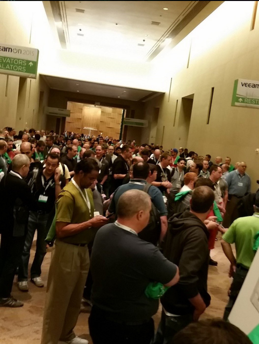 As programmers on marketing conference went, or about VeeamON 2015 from the first person
