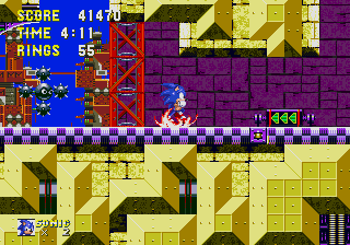 Обзор физики в играх Sonic. Части 3 и 4: прыжки и вращение