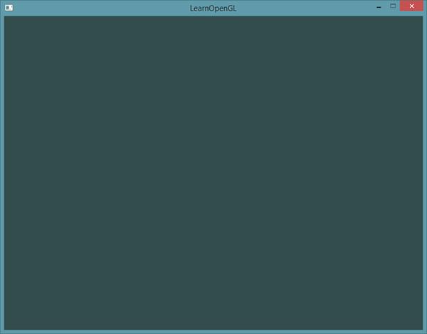 learnopengl. ���� 1.3 � Hello Window