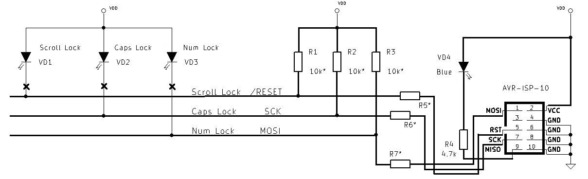 режим программирования контроллеров pic