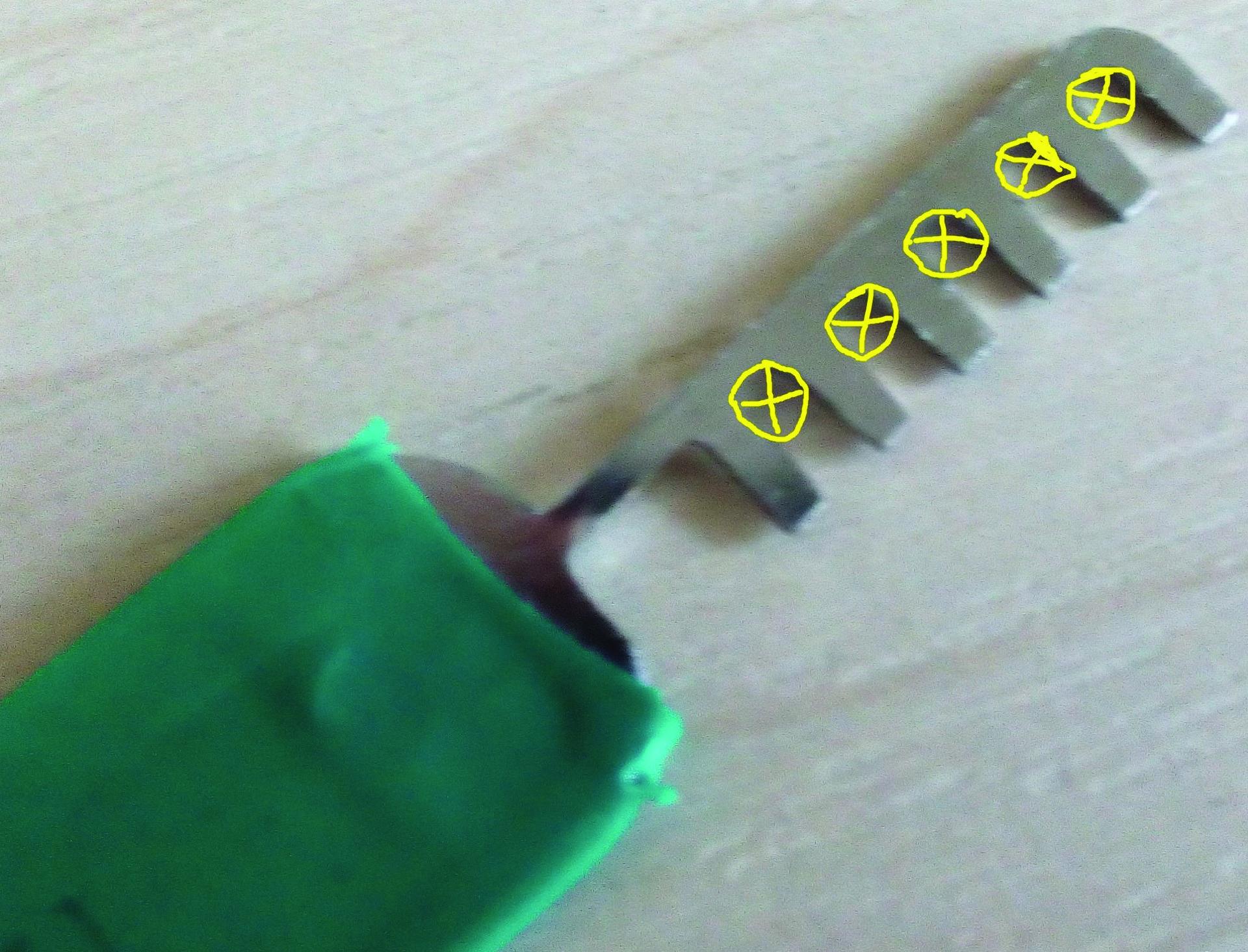 индикатор для обнаружения магнитных облучений-схема