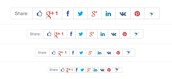 Избавляемся от JavaScript в социальных кнопках (Facebook, VK, Twitter и др.)