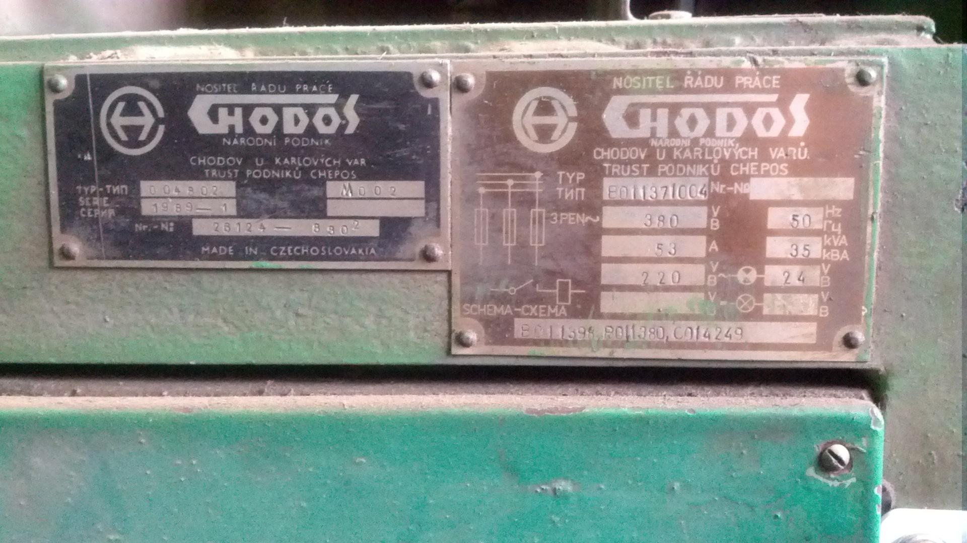 Применение STM32 в промышленных станках на примере выдувного автомата CHODOS (Чехия)