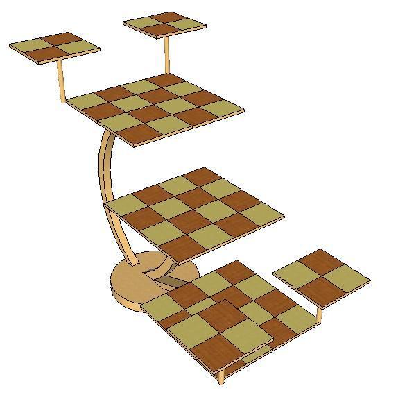 свой набор шахмат,