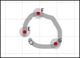 Gesture Three Point Circle