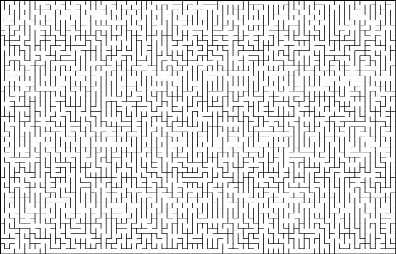 Классические алгоритмы генерации лабиринтов. Часть 2: погружение в случайно ...