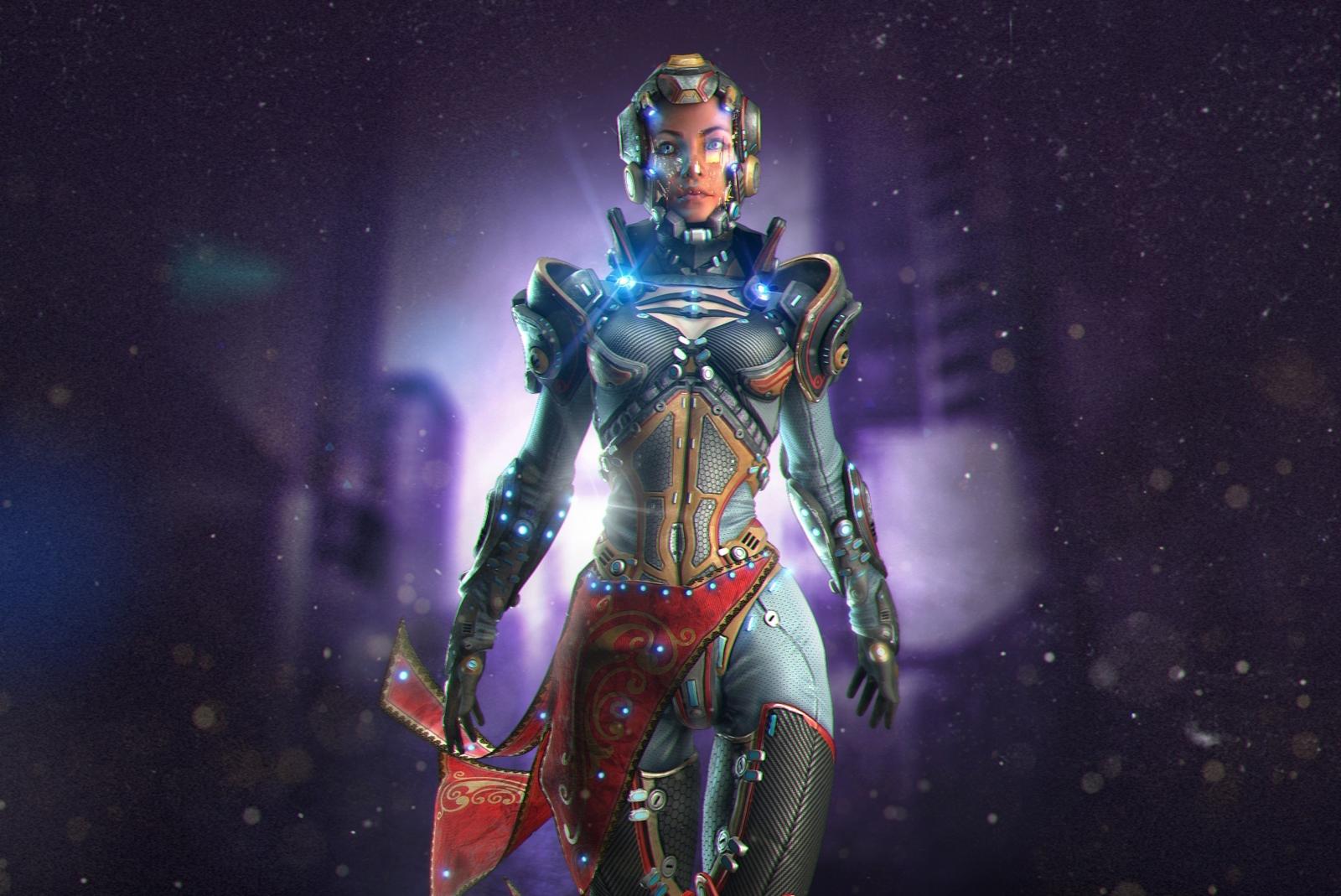������ �� ��������: ������ � �������� ������ Sci-Fi Girl