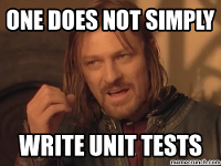 One more way of automatic call of unit-tests in the Xi language