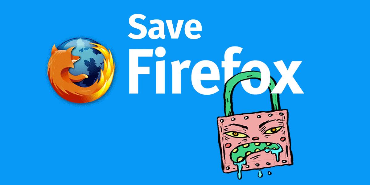 Спасём Firefox