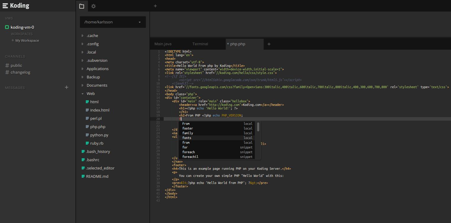 Программируем в облаке: обзор популярных IDE
