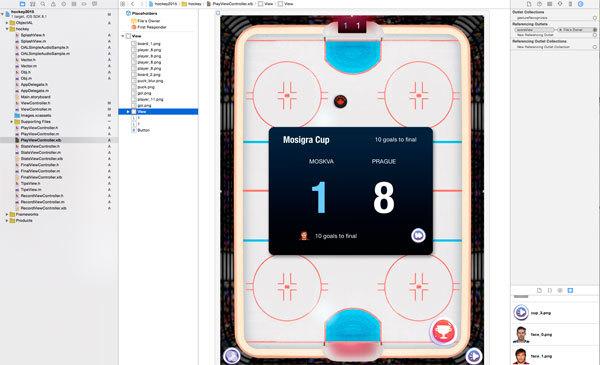 Шайбу вбросим в iOS восемь