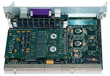 Примерный вид вычислительного модуля Эльбрус‑90микро вконструктиве «Евромеханика» сзади