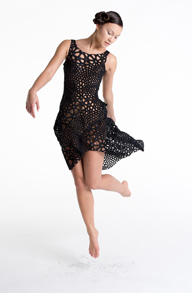 Платье 3д принтер