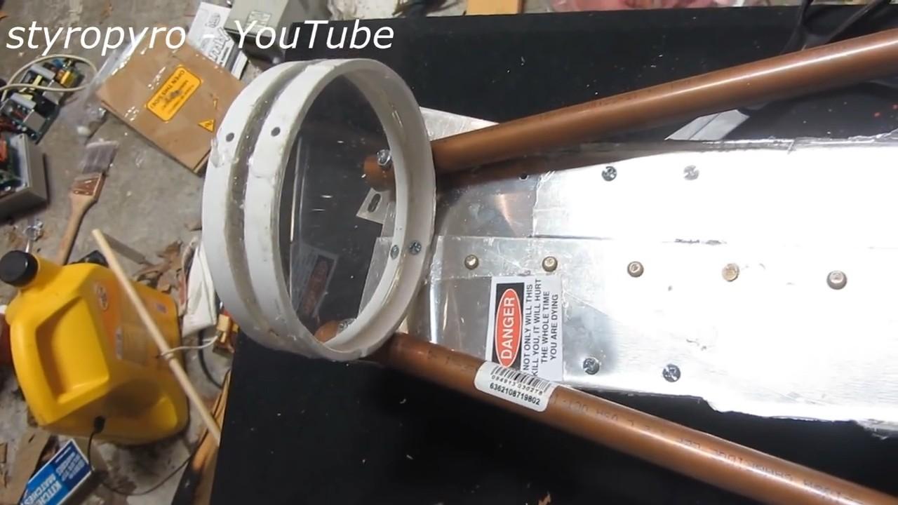Самодельная световая базука на 200 Вт