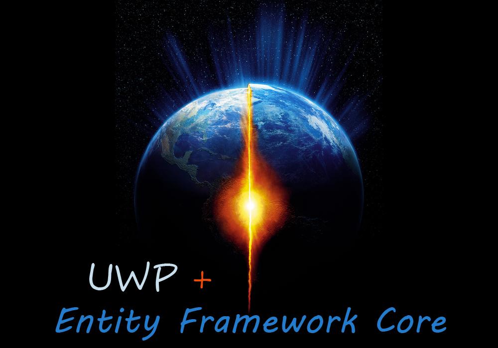 Используем Entity Framework Core с приложением универсальной платформы Wind ...