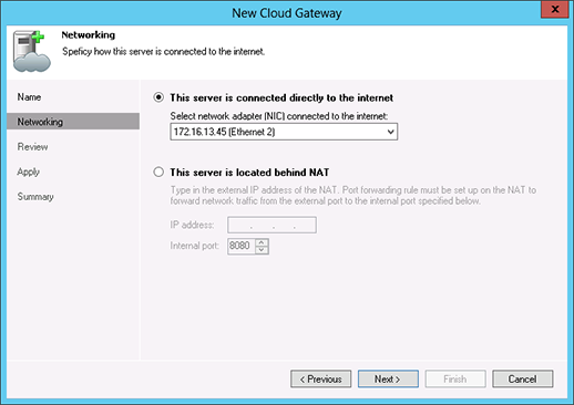 Veeam Cloud Connect in Microsoft Azure