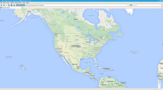 View of maps.google.com from Firefox