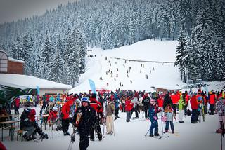 гора Банско пользуется популярностью среди горнолыжников