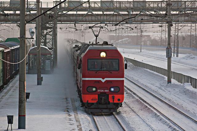 поезд Новосибирск Томск