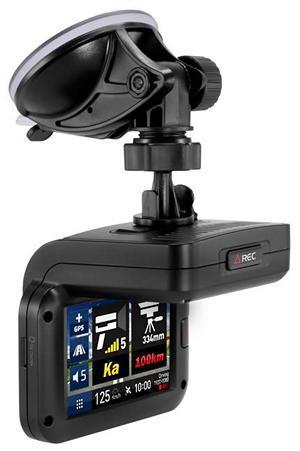 Обзор «гибридного» видеорегистратора с сенсорным управлением
