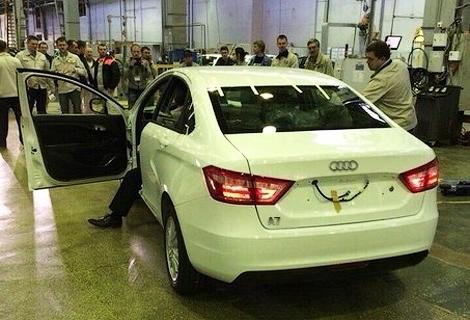 В России начали производство бюджетной версии Audi
