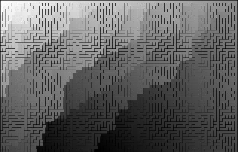 Классические алгоритмы генерации лабиринтов. Часть 2: погружение в случайность