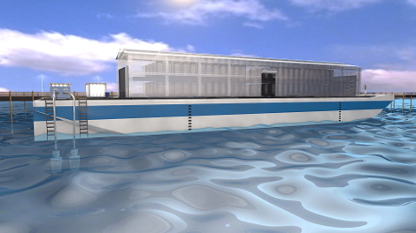 Entrepreneurs from the USA are going to start a network of floating data-centers