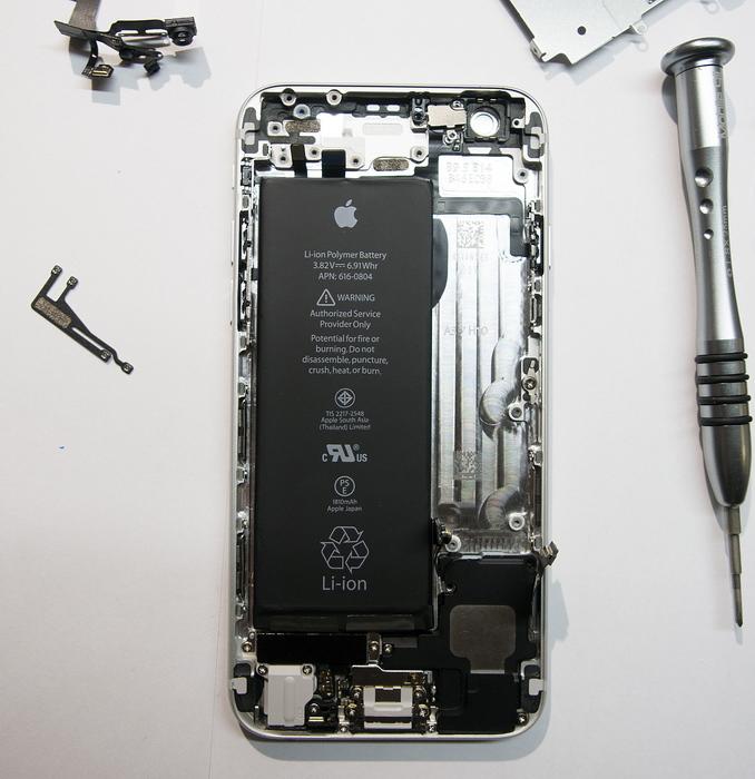 Iphone 4s схема аккумулятора - ce9