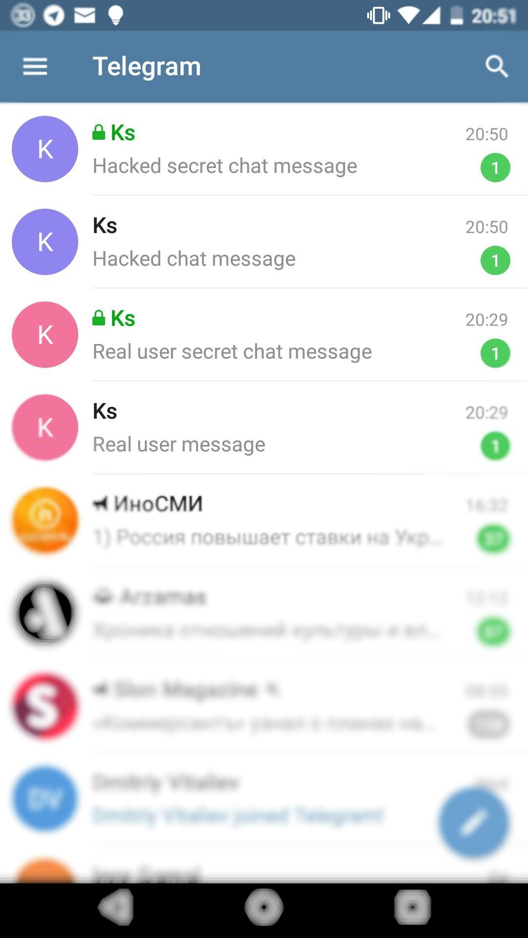 Двухфакторная авторизация в Telegram всё ещё/снова не работает