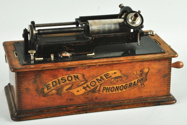 History Of A Cylindrical Phonograph Thomas Edison