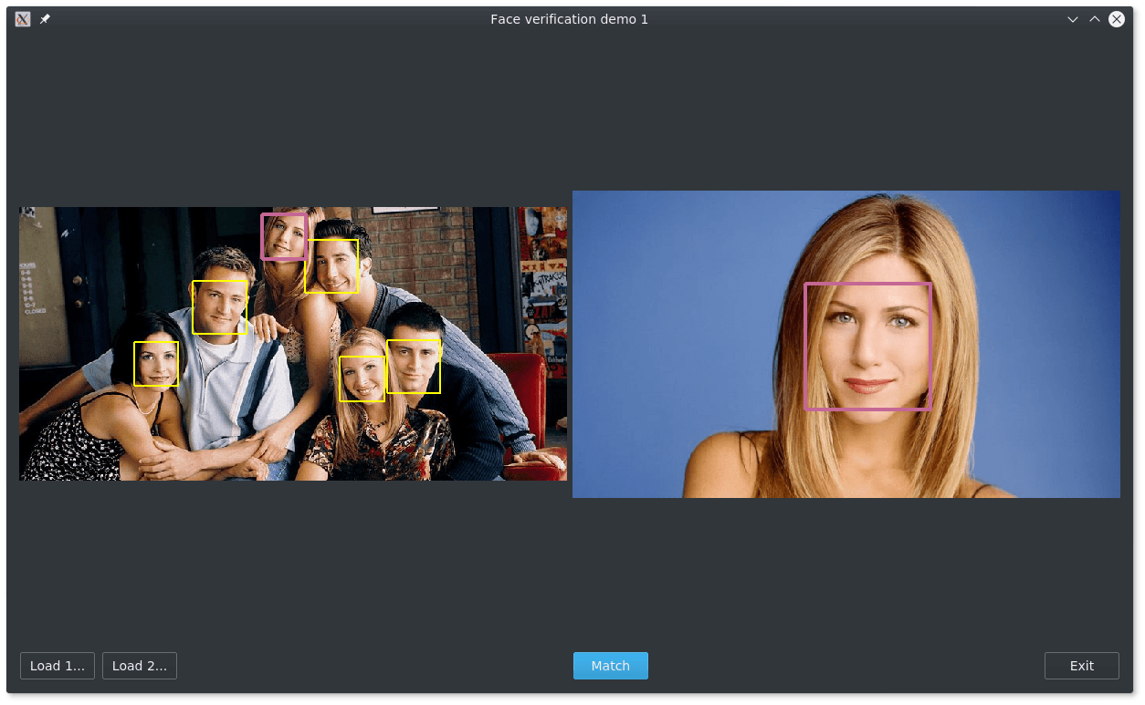 demo app screenshot