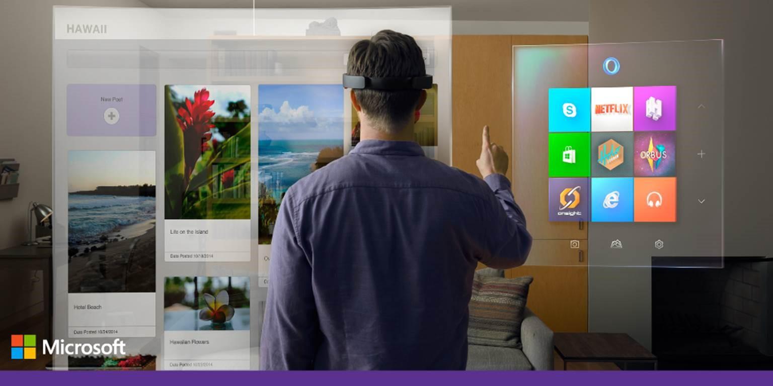 Новая Windows 10 и другие фантастические новинки от Microsoft