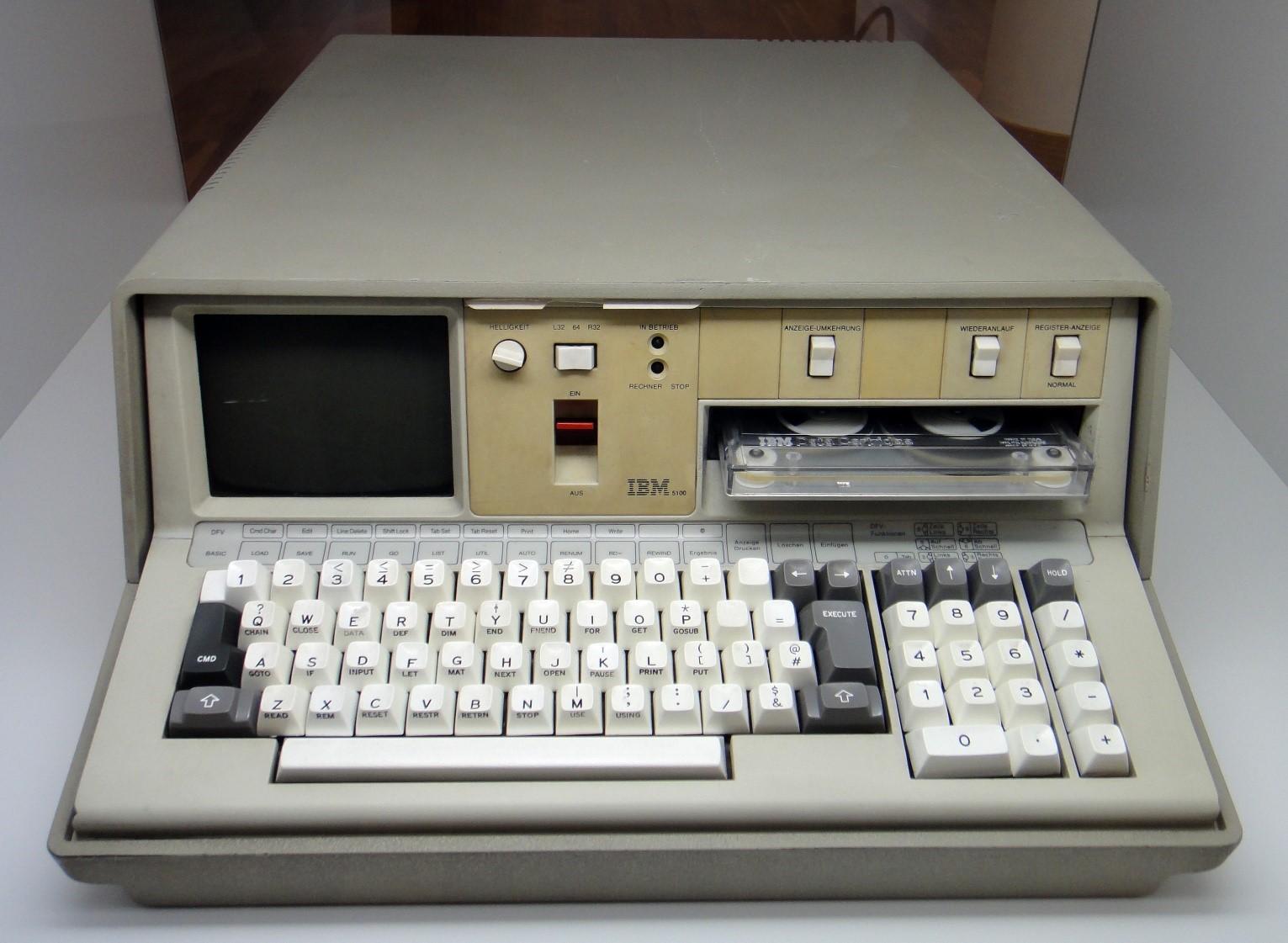 IBM Model 5100: первый портативный компьютер от IBM, вышедший 40 лет назад