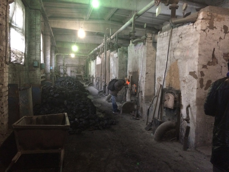 Угольная котельная (пример