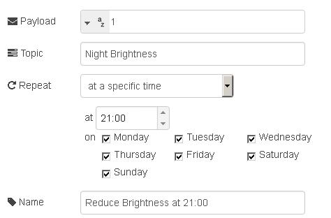Программируем управление освещением по датчикам движения и освещения на Node-RED