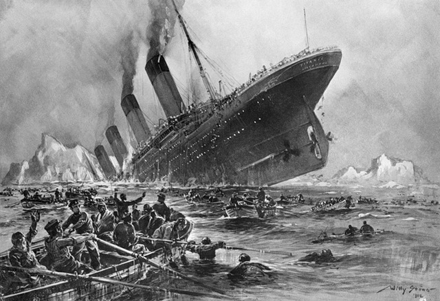 Kaggle and Titanic — one more solution of a task by means of Python
