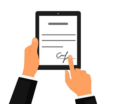 Какие документы можно подписывать эцп