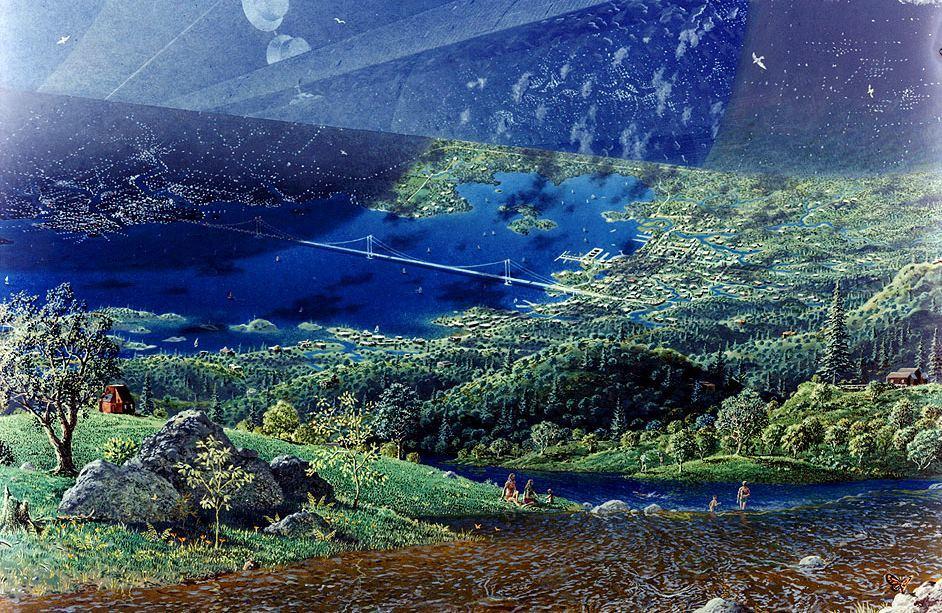 Картинки по запросу голубая тайга фото из космоса